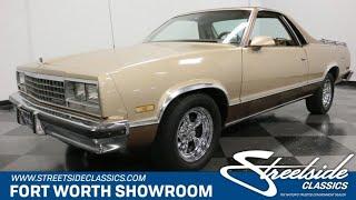 1987 Chevrolet El Camino Conquista for sale   3890 DFW thumbnail