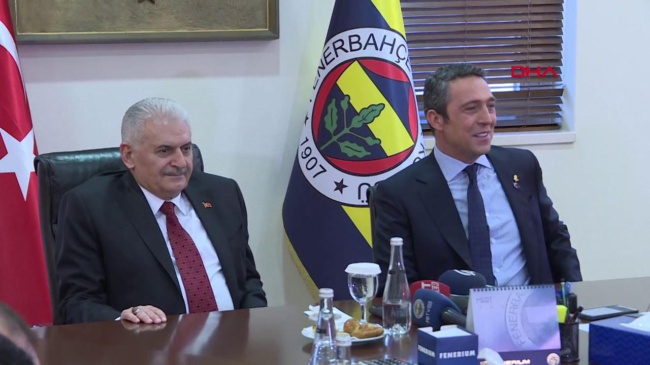 Binali Yıldırım Fenerbahçe Başkanı Ali Koç'u ziyaret etti