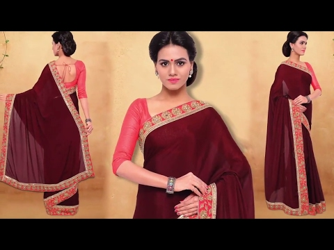 image of Party wear Sarees youtube video 3