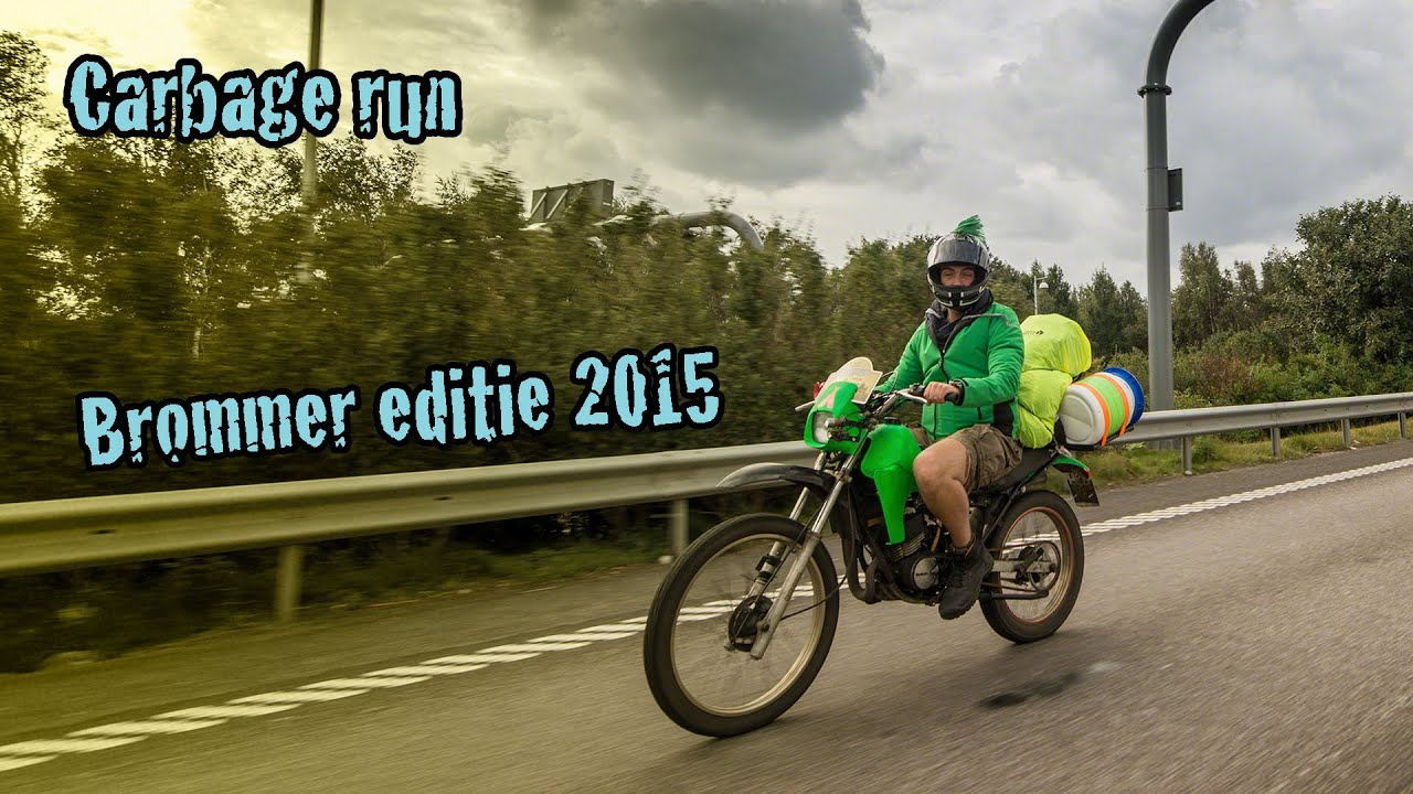 Carbage Run Brommer Editie 2015 Official Aftermovie