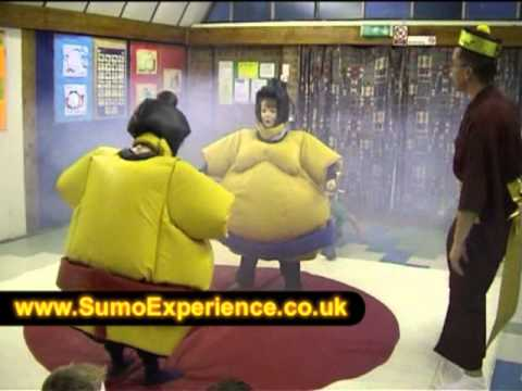 Sumo Experience running a child's 11 birthday party