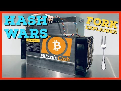 Hash Wars | Bitcoin Cash BCH | ABC vs SV Explained | Hard Fork Summary