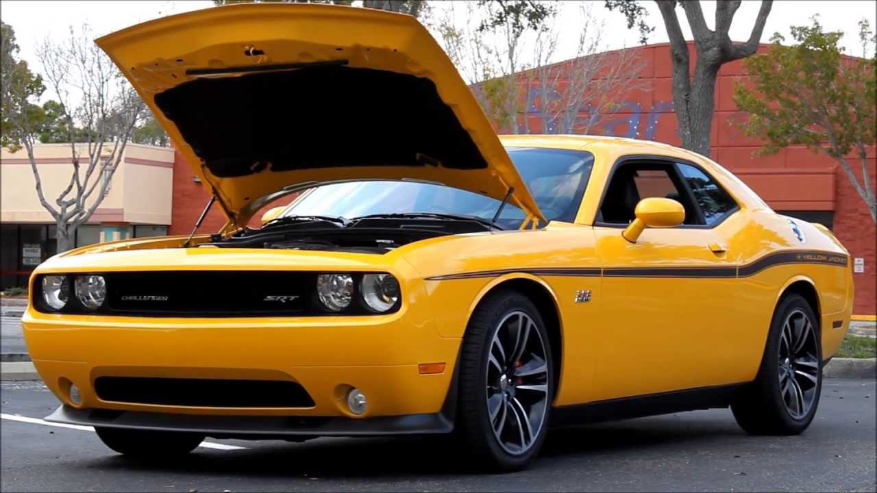 2012 dodge challenger srt8 392 hemi yellow jacket cars by brasspineapple productions youtube