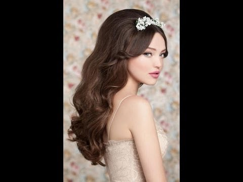 88c990e47 اجمل تسريحات الشعر للعروس مميزة - YouTube