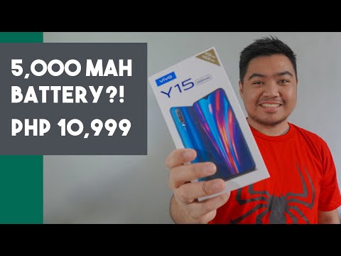 Vivo Y15 Unboxing, Initial Setup and First Impression