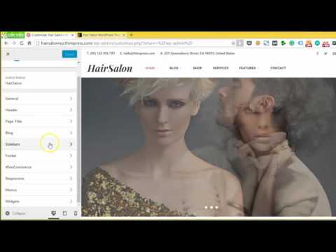 How to create a WordPress Website for Beauty and Hair Salon business 2016