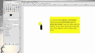 Curso GIMP. Parte 4: Color de frente y fondo en GIMP