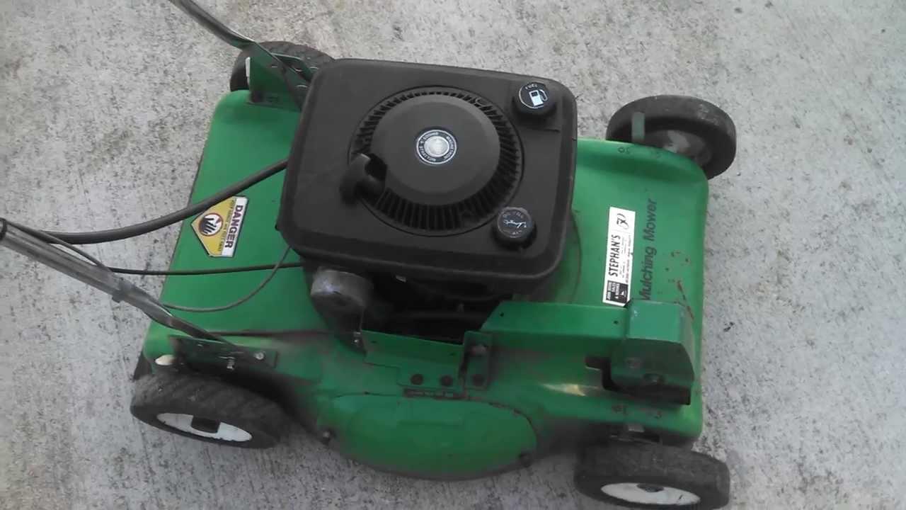 Vintage Bolens self propelled mower!