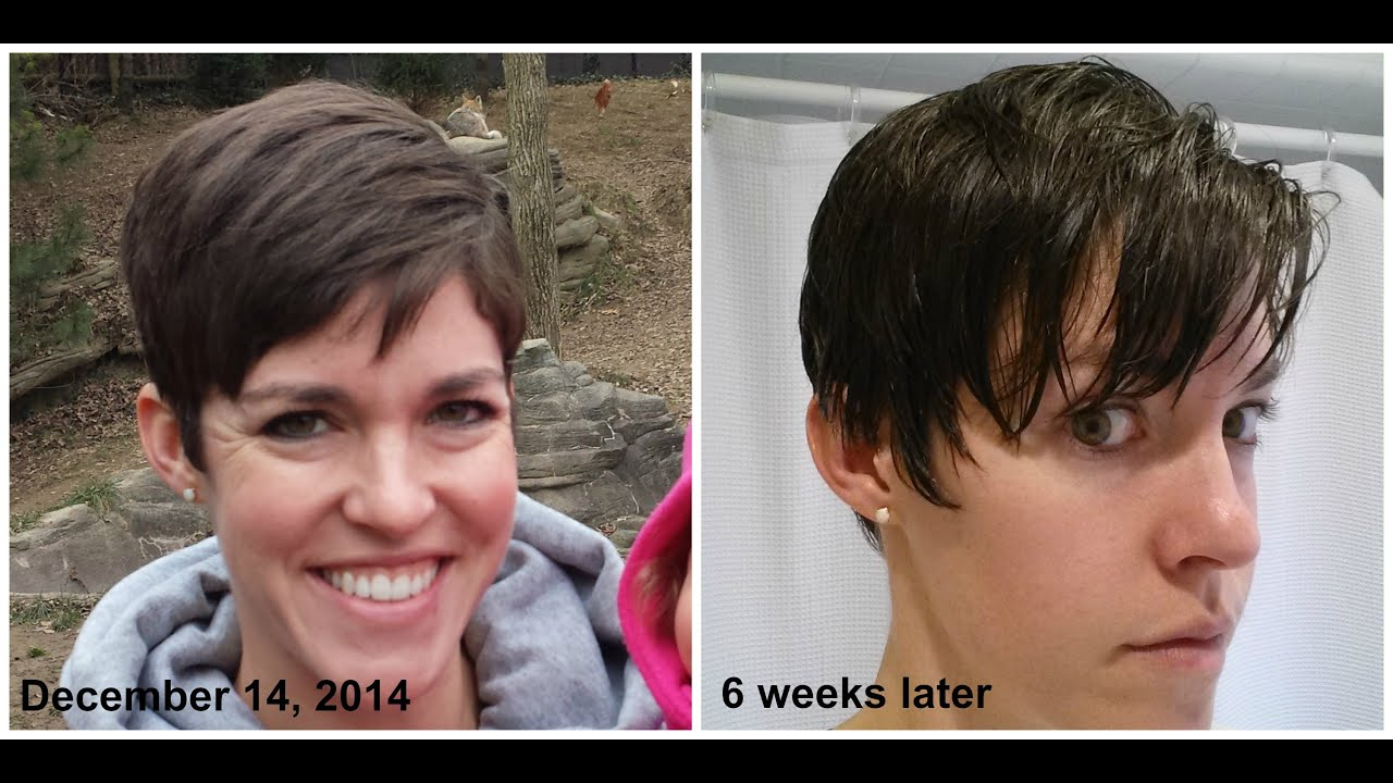 Growing out Pixie Haircut MONTH 4