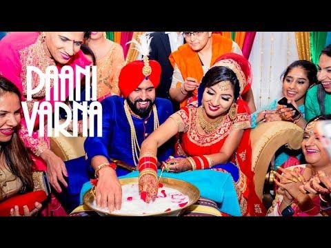 Paani Varna + Kangana - Manreet weds Sumeet   Punjabi Sikh Wedding Calgary