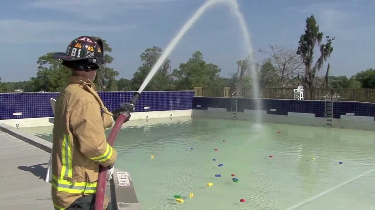 Construction Update Legoland Florida Water Park Wave Pool Gets Filled By Firemen Youtube