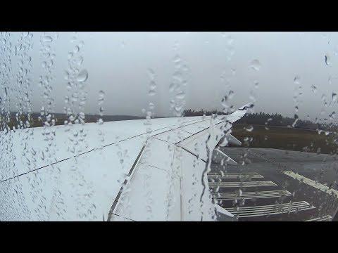 [FLIGHT TAKEOFF] Finnair A350 900 - Wet Takeoff from Helsinki Finland