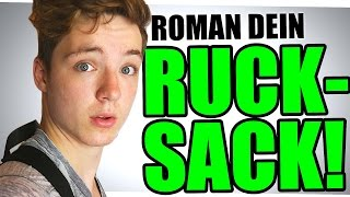 ROMAN DEIN RUCKSACK! - Die Auflösung