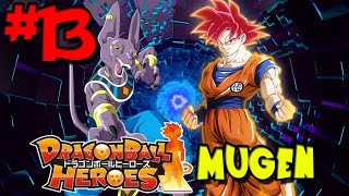 Nothing Can Defeat the Gods! | Dragon Ball Heroes MUGEN - Episode 13