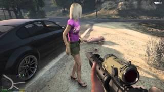 GTA V PS4  rape prevention