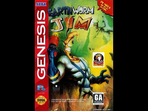 Earthworm Jim Прохождение на 100% (Sega Rus)