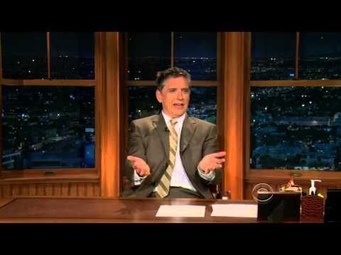 Late Late Show with Craig Ferguson 11/10/2009 Adam Arkin, Nina Garcia
