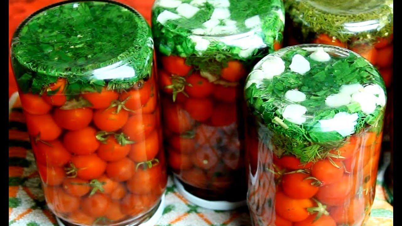 самые вкусные соленые помидоры на зиму