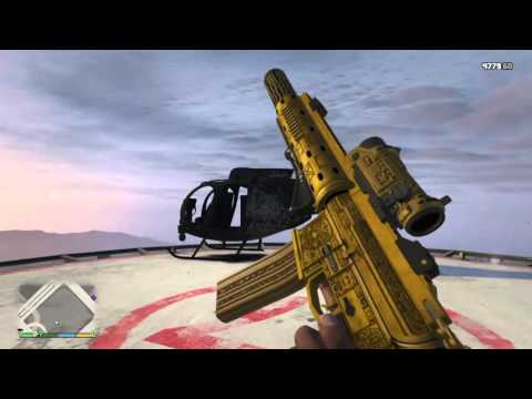 GTA V Ps4 all weapons first person-LOKI