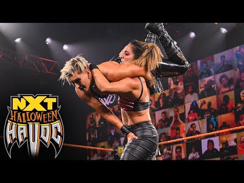 Rhea Ripley vs. Raquel Gonzalez: NXT Halloween Havoc, Oct. 28, 2020