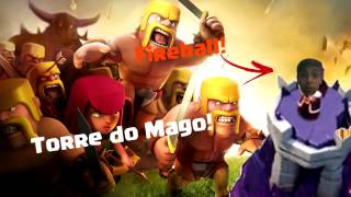 Torre Do Mago! Incompleta! - Clash of Clans #2