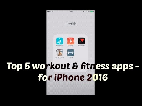 Best workout and fitness apps for iPhone - my top 5!