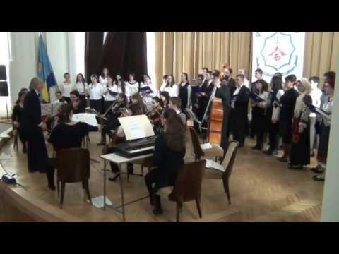O, Sanctissima -- Ludvig van Beethoven (Facultatea de drept, 2013.04.04)