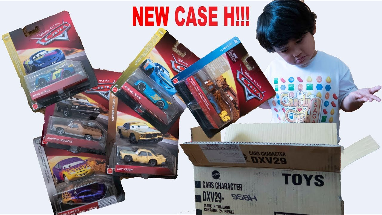 New 2019 Disney Cars Case H Richie Gunzit Mater With 95 Hat Todd