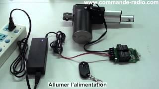 Comment Contrôler à Distance l'Actionneur Linéaire Par Une Télécommande