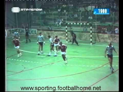 Andebol :: 04J :: Sporting - 19 x Benfica - 16 de 1988/1989