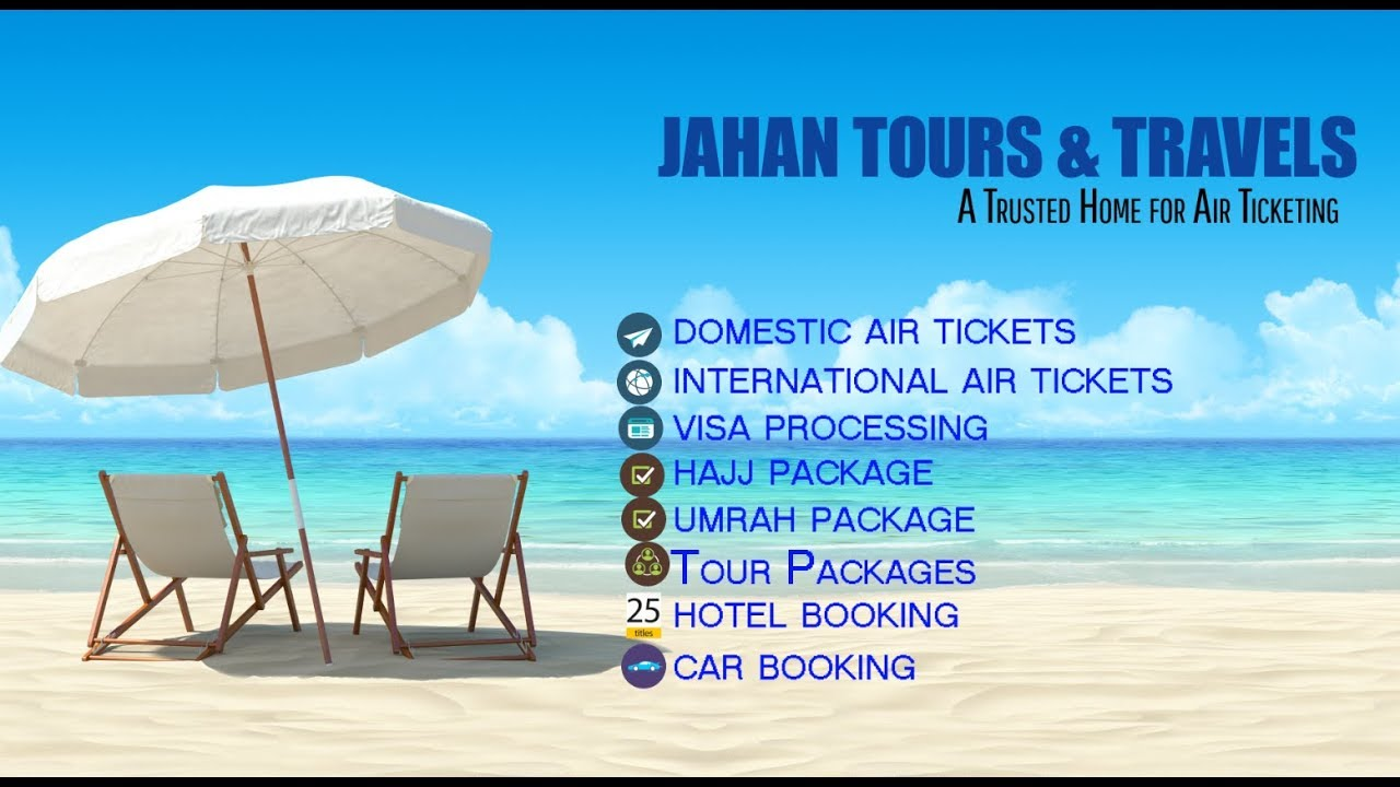 Jahan Tours Travels Ad