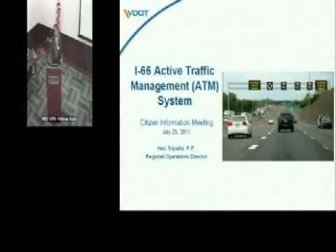 VDOT: I-66 Active Traffic Management System in Northern Virginia