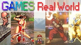 2D Games in the Real World