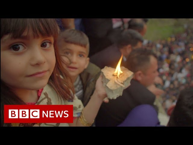 The Yazidis' Secret Children - BBC News