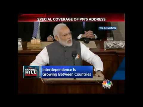 PM Narendra Modi's U.S Congress Address