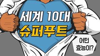타임지가 선정한 세계 10대 슈퍼푸드의 효능