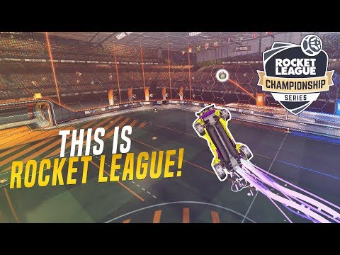 I recreated the most iconic Rocket League goals from RLCS - YouTube