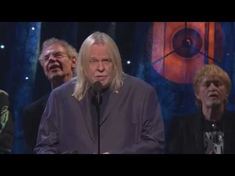 Yes Induction Acceptance Speeches  2017 Rock Hall Inductions