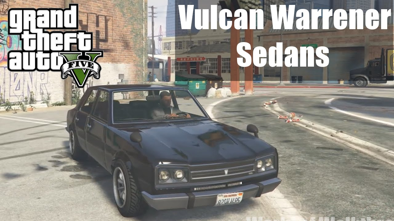Gta V Vulcan Warrener Sedans Gta V Car Hd Fps