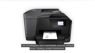 Comment Imprimer des enveloppes avec une imprimante HP sous Windows