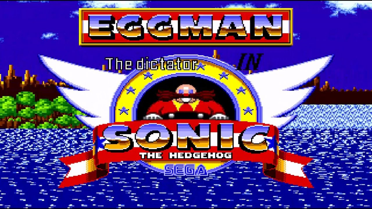 Eggman The Dictator In Sonic The Hedgehog Sega Genesis Rom Hack Gameplay Hd Youtube