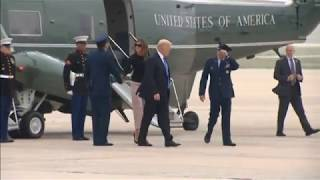 Trump departs White House for Europe and G20 summit