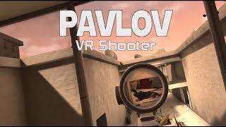 Контр страйк в виртуальной реальности - pavlov htc vive обзор геймплея