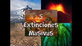 Las 5 Extinciones Masivas en la Tierra