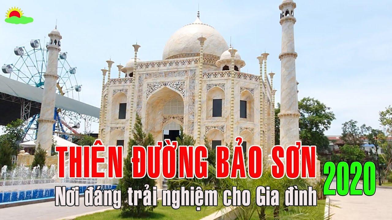 Tour Công viên Thiên đường Bảo Sơn 1 ngày gần Hà Nội 2020 Địa chỉ đáng giá để Gia đình trải nghiệm