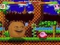 MUGEN - Annoying Orange VS Bunny Kirby and Kirby