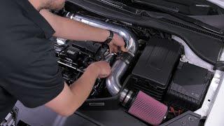 VW MK5 GTI FSI Intake Removal and Installation DIY