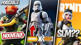 Fortnite x STAR WARS, Nouveau SKIN Poiscaille & Autre News sur FORTNITE !