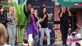 "Descendants Cast ""Did I Mention"" LIVE at the Downtown Disney #DescendantsFanEvent"