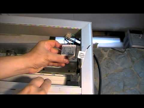 Colocar mando a distancia a motor con interruptor  YouTube